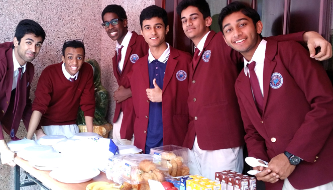 care and share food table  u2013 merryland international school