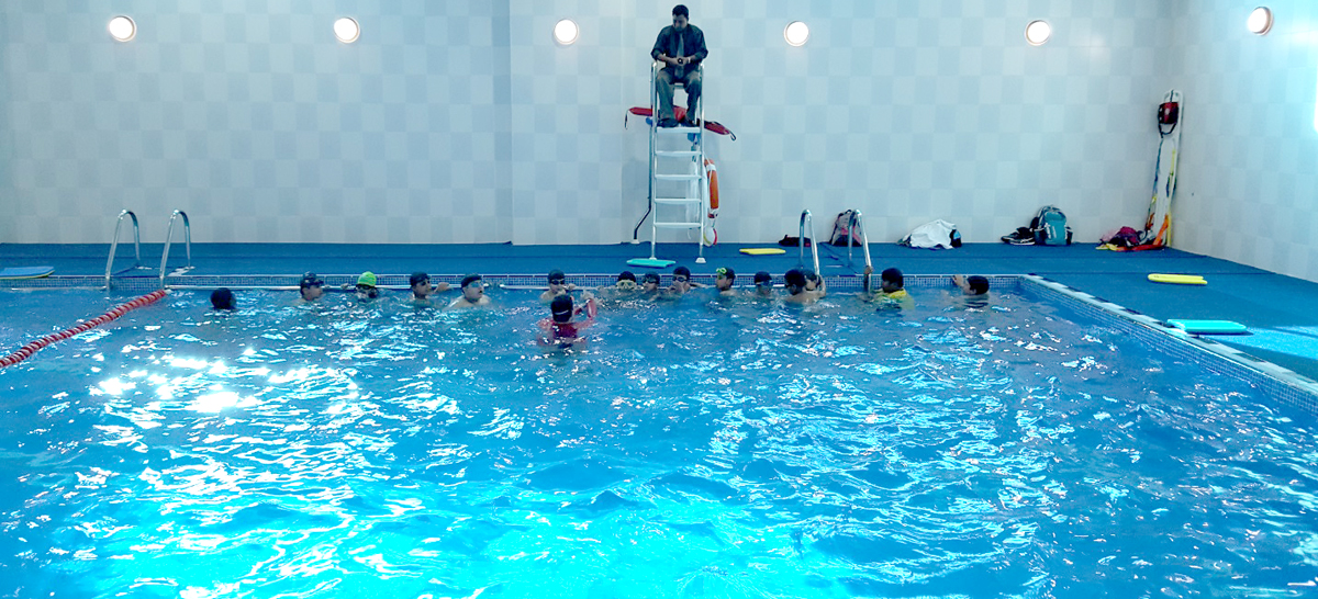 Swimming Indoor Temperature Controlled Pool Merryland International School