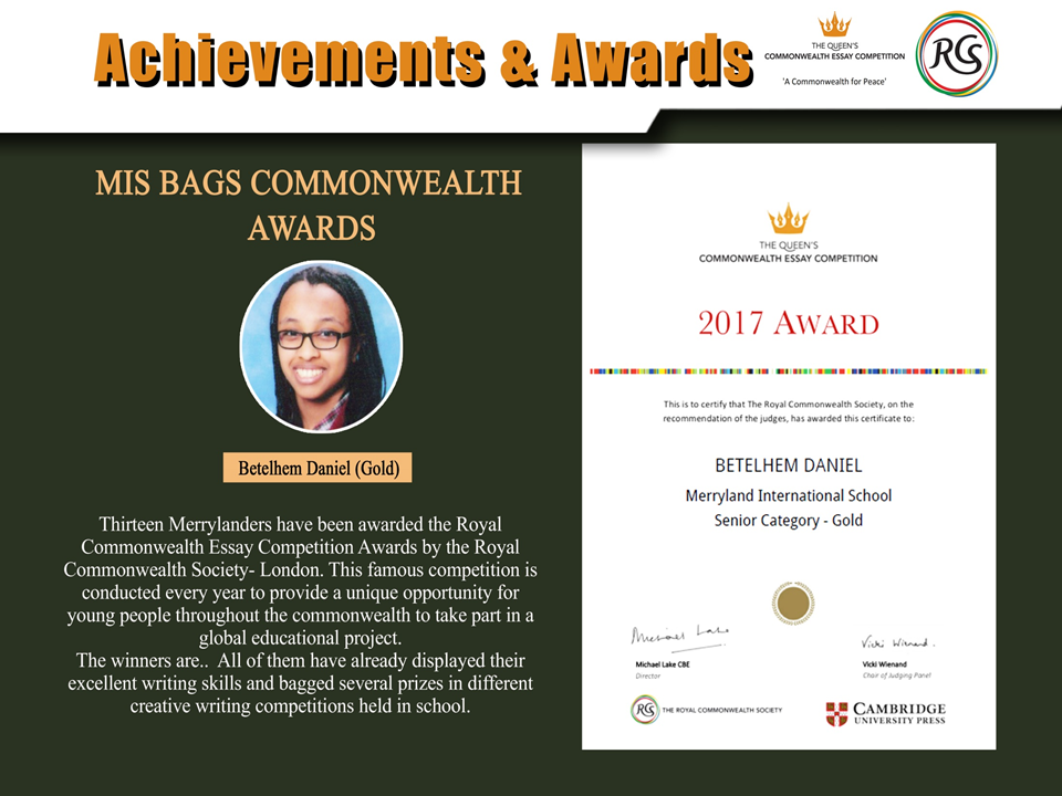 commonwealth writing competition essays 1 commonwealth essay competition every year, the commonwealth essay competition inspires thousands of young writers from all over the world run by the royal commonwealth society since 1883, it is the.
