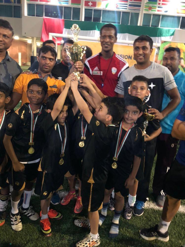 Abu Dhabi Soccer Champions – Merryland International School